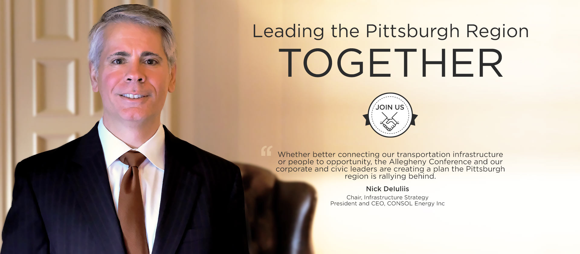 Nicholas DeIuliis - Chair, Infrastructure Strategy - President and CEO, CONSOL Energy Inc.