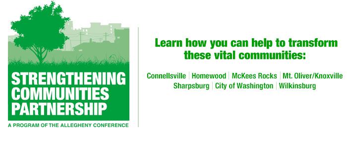 Strengthening Communities Partnership Banner